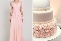 Pretty in Pink / Pink & Blush wedding inspiration and ideas