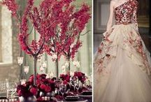 Marsala Red Wedding Ideas / Marsala- Pantone Color of the Year for 2015