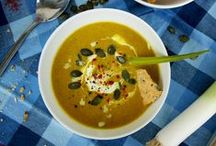 Soup Recipes / Hearty and comforting soups, stews, chili and curries -  nutritious, filling and packed with flavor!
