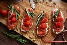 Appetizer and Snacks Recipes / Delicious and easy appetizers, healthy snacks, finger foods, party food ideas and other tasty bites that can be made ahead or assembled in minutes!