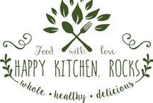 Happy Kitchen.Rocks - Recipes / Recipes on my blog: whole, seasonal, delicious and healthy vegetarian food that is easy to make.
