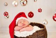 fotos bebe navideñas