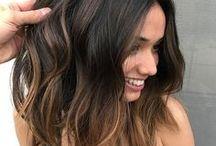 :: morena iluminada :: / morenas com cabelos iluminados