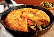 Spanish Breakfast / #Recipes Ideas of #Breakfast for #NationalBreakfastWeek