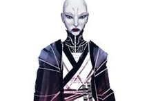"ch (sw): asajj ventress. / "" you have already lost the battle, child. i've ordered your reinforcements to return. "" "" no! i will destroy the jedi. i will show you. "" "" you have failed me for the last time. you are no longer my apprentice. and now you shall die. """