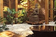 Natural Garden / Konsep hidup sederhana dan alami banyak menginspirasi banyak orang untuk menjalankan kehidupan sehat.