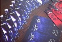 Book Goodies / ReVamped and ReAwakened Swag: Print Books, Postcards, Bookmarks, Posters, etc.