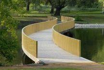 Petits ponts au jardin - Small garden bridges / Comment franchir un ruisseau