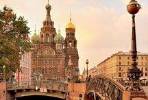 Moscou e São Petersburgo, Rússia