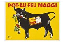 Affiches avec animaux - Advertising posters with animals / utilisation visuelle animale
