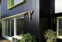 Façade bois, fibro ciment  ou métallique / couleur et matériau pour habiller un mur extérieur