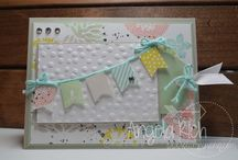 Stampin' Up / Creations using mostly a Stampin Up products