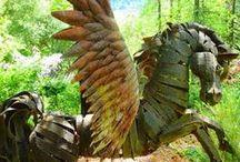 Pégase le Cheval ailé - Pegasus the winged horse / la représentation du cheval avec des ailes