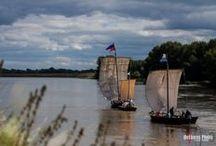 """La Loire en bateau - boats of the Loire Valley / Une autre façon de voir """"the Loire Valley"""""""