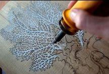 Pyrogravure - Woodburning / Laisser une trace indélébile