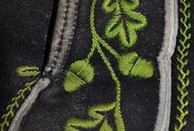 Acorn fashions - Le gland motif de mode / Le gland comme motif vestimentaire