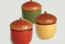 Acorn design - le gland comme objet décoratif / le gland à la maison