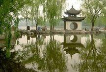 Jardins Chinois -  Classical Chinese Garden / Géométrie fractale, Yin Yang, Tao....Land Art...paysages artificiels d'un incroyable réalisme