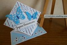 Mes cartes / My cards / cards made by me - cartes artisanales