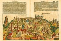Maps: Holy Land & Jerusalem / Antique Maps of Ancient Israel, Palestine, and the Holy Land