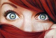 RED HEADS <3 / Red hair and freckles… fire everywhere!