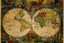 Old Maps to Pin / Beautiful Old Maps from Around the World