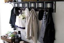 Drop zone - Vide poche - Vestiaire d'entrée - Mudroom - Entryway / Où mettre ses clés, ses chaussures, son parapluie, ses vêtements extérieurs lorsque l'on rentre chez soi ?