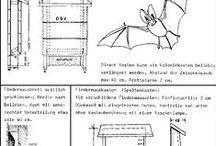 Nichoirs pour chauves-souris - bat box - Fledermauskasten / Comment se protéger des moustiques en invitant des chauves-souris au jarin