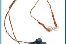 Semi Precious Necklaces  by Marie-Naja Kranay / Handmade Semi Precious Necklaces