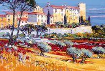 Le Castellet (Village), Provence, France