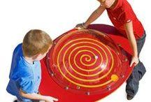 Spirales ludiques - games spiral / Jeux en forme de spirales