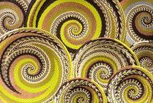 Spiral and decorative art / le motif de la spirale dans les objets de la maison