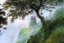Illustrations de John How / La mise en image du Monde de J. R. R. Tolkien