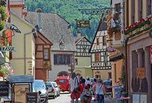 Kaysersberg, Alsácia, França (Alsace, France)