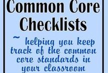CCSS / Common Core State Standards Ideas and Checklists