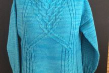 Knitter for hire / Client commissions & personal projects