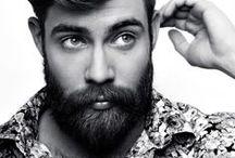 Beards/Scruff/Topknots