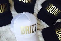 The Bride and her Tribe / Bridesmaids and Bridal Shower Inspo