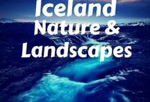 Iceland Nature & Landscapes / Beautiful photos of Iceland nature and landscapes, in winter, summer, and through the year. Photography of the northern lights, waterfalls, glaciers, and more.