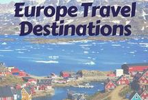 Europe Travel Destinations / Where to visit in Europe: The best European travel and vacation destinations to add on to your trip to Iceland.