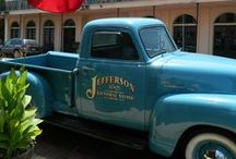 Trains, Cars, Pickups & Such / Old Trains, Cars And Pickups Hold A Magic Of Yesteryear.  We Restore, Decorate, Plant, Admire, And Love Them! / by sherry jefferson