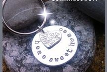 Commissions by The Button Princess - Silver Jewellery