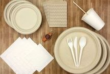 Enviro Party / If you're over having flimsy plates and bendy cutlery at your next work event, the Enviro Party Kit and Basic Decorator Kits provide a simple solution!
