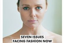SUSTAINING / fashion / What current issues are facing fashion today? Sustainability, support for the new talent and so many others. Browse this list as we add content surrounding the current fashion industry challenges.