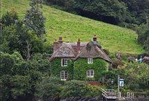 Droomhuizen / Huizen waar ik zo in zou willen wonen.