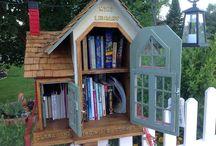 Community Library / Bibliotheekhuisje / Zou geweldig zijn bij ons in t dorp waar helaas geen bieb meer is.