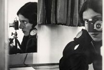Photographers' Self-Portraits in Mirrors