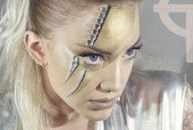 David Bowie inspiration makeup @noodle / Makeup David Bowie