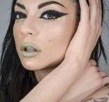 fashion makeup @noodle / Marilena Noodle's inspirations
