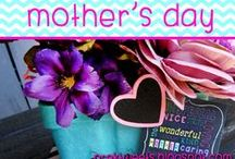 Mother's Day / Mother's Day crafts, activities, and gift ideas!
